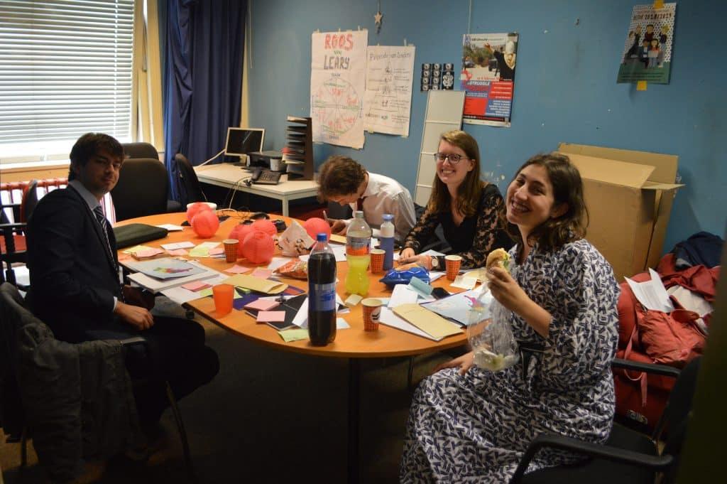 Deelnemers van de jaarlijkse simulatie van SIB-Utrecht
